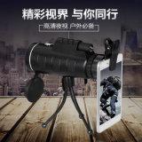 Телескоп сигнала биноклей телескопа для объектива фотоаппарата iPhone мобильного телефона