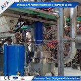 GCCの上塗を施してある炭酸カルシウム機械