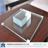 espace libre de 1-19mm/feuille de couleur/à plat glace de flotteur pour la construction/guichet