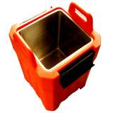 Caixa portátil isolada caixa do refrigerador do alimento do refrigerador do rolamento da polia