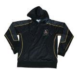 Сублимация регби черного цвета в удлиненной худи Perth-Bayswater Pullover для