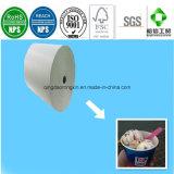 Lados simple/doble papel recubierto de PE para Baskin Robbins de la Copa de helados