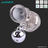Justierbares Einzeln-Kopf LED Wand-Licht mit Fühler