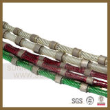 &De goma de diamantes de Sierra de alambre de resorte para el hormigón y hormigón armado corte