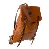 Популярным новым Backpack компьтер-книжки конструкции загоранный овощем кожаный для людей