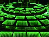 3D suelo de baile de cristal endurecido suelo del azulejo LED