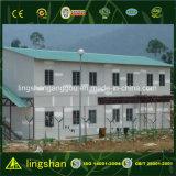 Casa modular de las caravanas de la casa de la casa de la estructura de acero