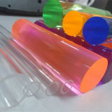 Transparentes e hastes de acrílico colorido/barras de acrílico