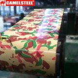 색깔은 인쇄된 강철 코일 또는 꽃 패턴 PPGI/Best 판매 또는 강철 코일 또는 건물 입혔다