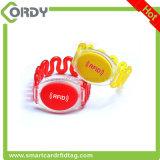 wristband di plastica di 125kHz/13.56MHz RFID per sauna/piscina