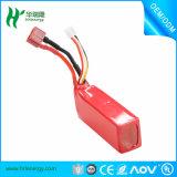 Batería caliente 386888 de la alta tasa de la venta 3s 1800mAh 35c