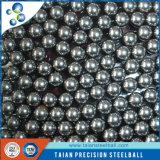 Bille d'acier au chrome de la norme de l'OIN de Steelball de prix usine AISI52100 6.35mm