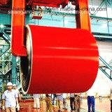 (0.17mm-0.8mm) La tôle d'acier de PPGI a enduit la bobine en acier