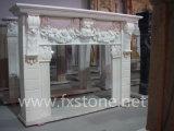 Cheminée en marbre style français