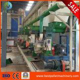 1-10t madeira Pellet Pressione Linha fabrico aprovado pela CE