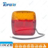 De Lichten van de rode Gele LEIDENE van de Vrachtwagen ATV Waarschuwing van de Teller
