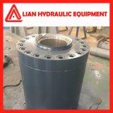 Cylindre hydraulique de pétrole hydraulique pour le projet de garde de l'eau