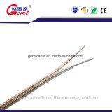 Alambre/cable audios del altavoz del PVC del Hola-Fin negro/rojo del cable de cobre