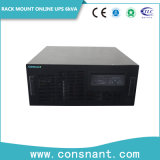 1-10kVA 19 ' PF0.9를 가진 유연한 선반 마운트 고주파 온라인 UPS