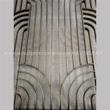 Bronzeinnenim freienEdelstahl-Panels