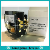 Propósito definido contactor AC magnético 1P 2P 3P 20 a 30 A 40A para aire acondicionado