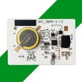 재사용할 수 있는 NFC 원형 온도와 습도 기록병