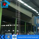 Stahlkonstruktion-Rahmen verschüttet als Metallfabrik