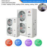 Netherland Amb. -25c100~350de chauffage au sol d'hiver m² Room 12kw/19kw/35kw condenseur pompe à chaleur atmosphérique intérieure Evi Mini Split