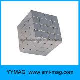 cubo dos ímãs do Neodymium do bloco de 5X5X5mm