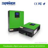 2018 MPPT 태양 충전기 관제사를 가진 최신 인기 상품 4kVA 5kVA 순수한 사인 파동 잡종 변환장치