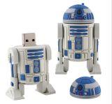 Robot del metallo di alta qualità USB del bastone di memoria di 16 GB