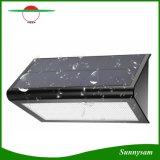 Super Heldere Zonne Openlucht het LEIDENE van de Radar Sensor 800 van Lichten Lumen 48 Draadloze Waterdichte Zonne Aangedreven Licht van de Veiligheid voor Tuin