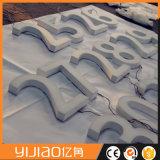 Lettres et signes acryliques neufs de Frontlit DEL d'acier inoxydable de modèle