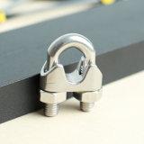 ステンレス鋼の締める物DIN741ワイヤーロープクリップ