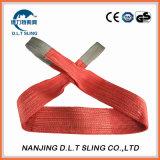 平らなウェビングの吊り鎖のセリウムGSを持ち上げるポリエステル網