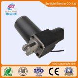 El actuador linear de acero PT01 solicita la base casera