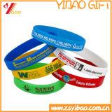 Kundenspezifischer Drucken-Firmenzeichen-Silikon-Wristband/Armband für förderndes Geschenk