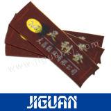 Contrassegno dell'abito del poliestere dell'indumento tessuto vestiti su ordinazione poco costosi di marca