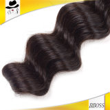 Emaranhado cambojano do cabelo do Virgin da melhor extensão brasileira do cabelo de Remy