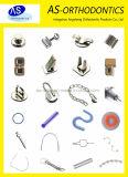 Les soins dentaires Orthodontie Crimpable accessoires accessoires en métal crochets s'arrête Crimpable boutons multilingue
