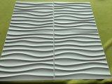 싸고 정밀한 Paintable 실내 벽 훈장 PVC 벽면 중국 튼튼한 방수 3D 벽면