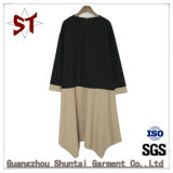 2018 New Two-Color Casual Ladies Daily Dress