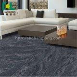 Imperméable à texture lâche de luxe de jeter un revêtement de sol de planches en vinyle PVC Tile, ISO9001 Changlong Cls-40