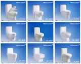 Cabinet d'aisance monopièce de Siphonic de trou simple populaire (8021)