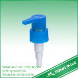 28/410 pompe à main de lotion bleu-clair avec le clip