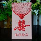 Hochzeits-Luxuxdrucken-rotes Paket/Tasche/Umschlag