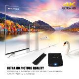 Cadre intelligent du WiFi duel de bonne qualité TV de 4K H. 265
