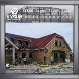 기숙사를 위한 2개의 지면 이동할 수 있는 별장을 건축하는 조립식 강철 구조물