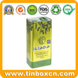 Contenitore del barattolo di latta del metallo dell'alimento per l'olio di oliva 3L