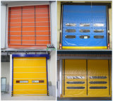 High-density дверь штарки завальцовки /Automatic двери двери PVC промышленная штабелируя высокоскоростная штабелируя